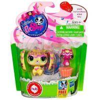 Littlest Pet Shop zvířátka - 3039 Králíček 3040 Kotě 3