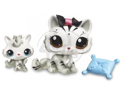 Littlest Pet Shop zvířátka - 3585 Tygr 3586 mládě