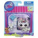Littlest Pet Shop zvířátka - 3585 Tygr 3586 mládě 3