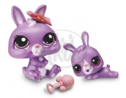Littlest Pet Shop zvířátka - 3591 Králík 3592 mládě