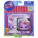 Littlest Pet Shop zvířátka - 3591 Králík 3592 mládě 3
