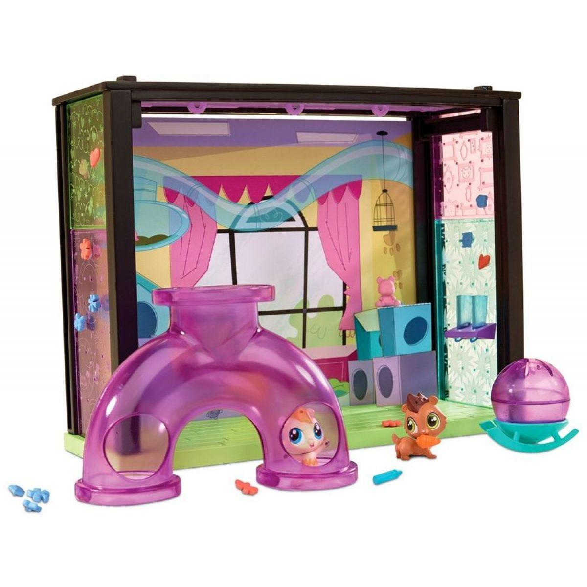 Littlest Pet Shop Zvířátko s domečkem - Dětský koutek