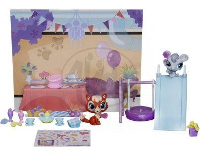 Littlest Pet Shop Zvířátko s doplňky do domečku - Pet Party