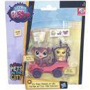 Littlest Pet Shop Zvířátko s kamarádem a vozidlem - B7757 2