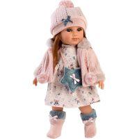 Llorens 53534 Nicole realistická panenka s měkkým tělem 35 cm