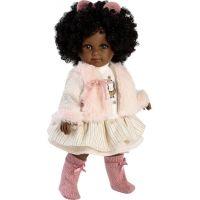 Llorens 53535 Zuri realistická bábika s celovinylovým telom 35 cm