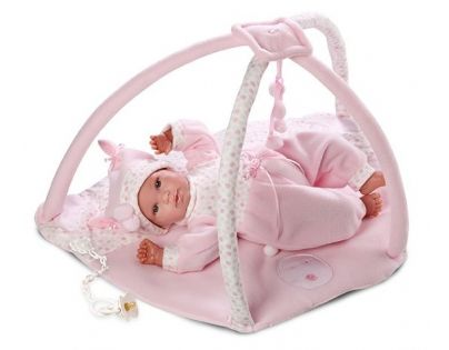 Llorens Panenka New Born s hrací dekou