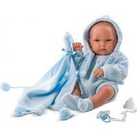 Llorens Panenka New Born Chlapeček v kabátku