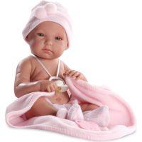 Llorens panenka New Born holčička s doplňky