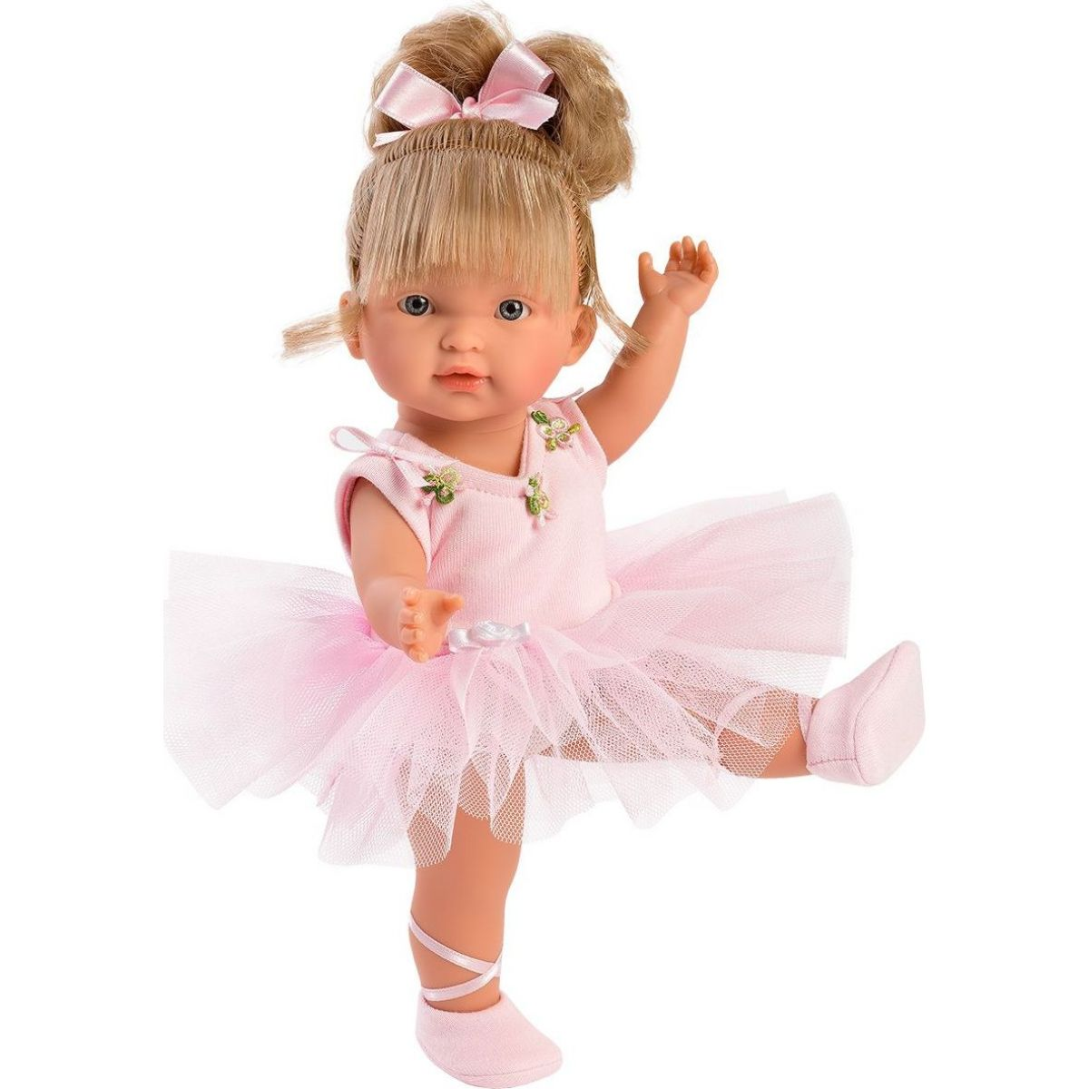 Llorens panenka Valeria Ballet růžový obleček