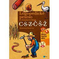 Albatros Logopedické pexeso a obrázkové čtení C-S-Z-Č-Š-Ž