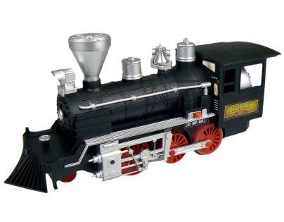 Lokomotiva kouřící 35 cm