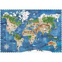 Londji Kapesní puzzle Kolem světa 100 dílků
