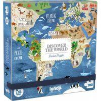 Londji Kapesní puzzle Kolem světa 100 dílků 2