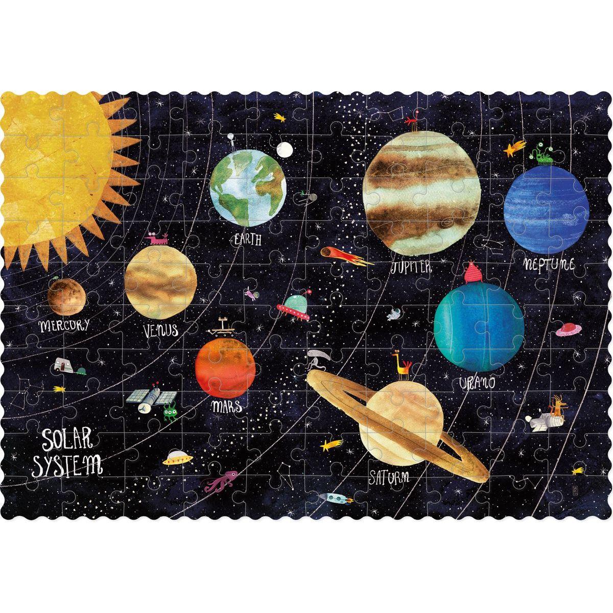 Londji Vreckové puzzle Objav planéty - 100 dielikov