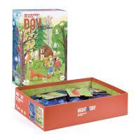 Londji Oboustranné puzzle Den a noc v lese 2 x 54 dílků 3