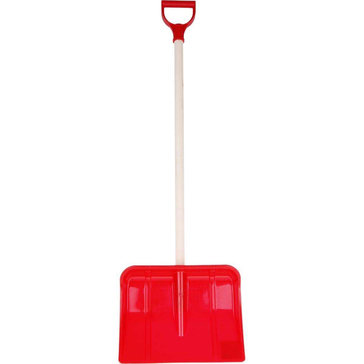 Lopata na vyhrnování sněhu 95 cm - Červená