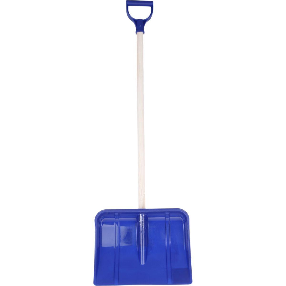 Lopata na vyhrnování sněhu 95 cm - Modrá