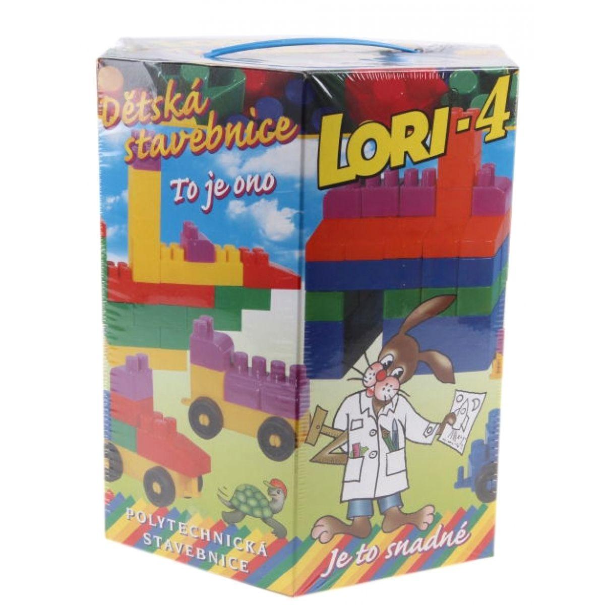 Lori 4 Stavebnice 100 dílků