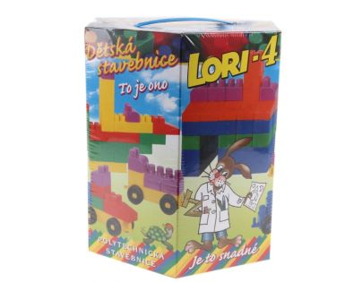 LORI 42000004 - LORI 4 - stavebnice 100 dílků