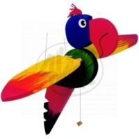 Woody Létací papoušek 50 cm