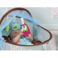 Ludi Cestovní postýlka pro miminko Nomad modrá 3