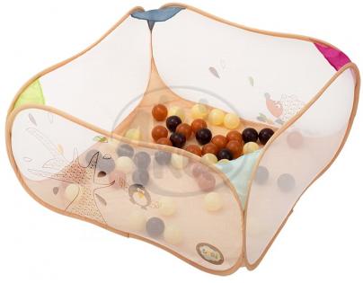 Ludi 2835LU - Hrací ohrádka s míčky Ptáčci