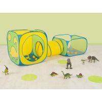 Ludi Hrací ohrádka, stan a tunel Dinosaurus