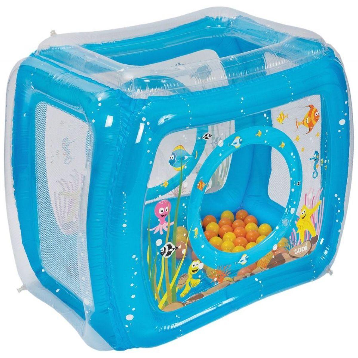 Ludi Nafukovací hrací stan Moře s míčky 50ks