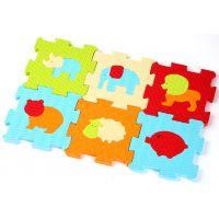 Ludi Penové puzzle zvieratka 46,5x31,5cm