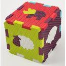 Ludi Pěnové puzzle zvířátka 46,5 x 31,5 cm 3