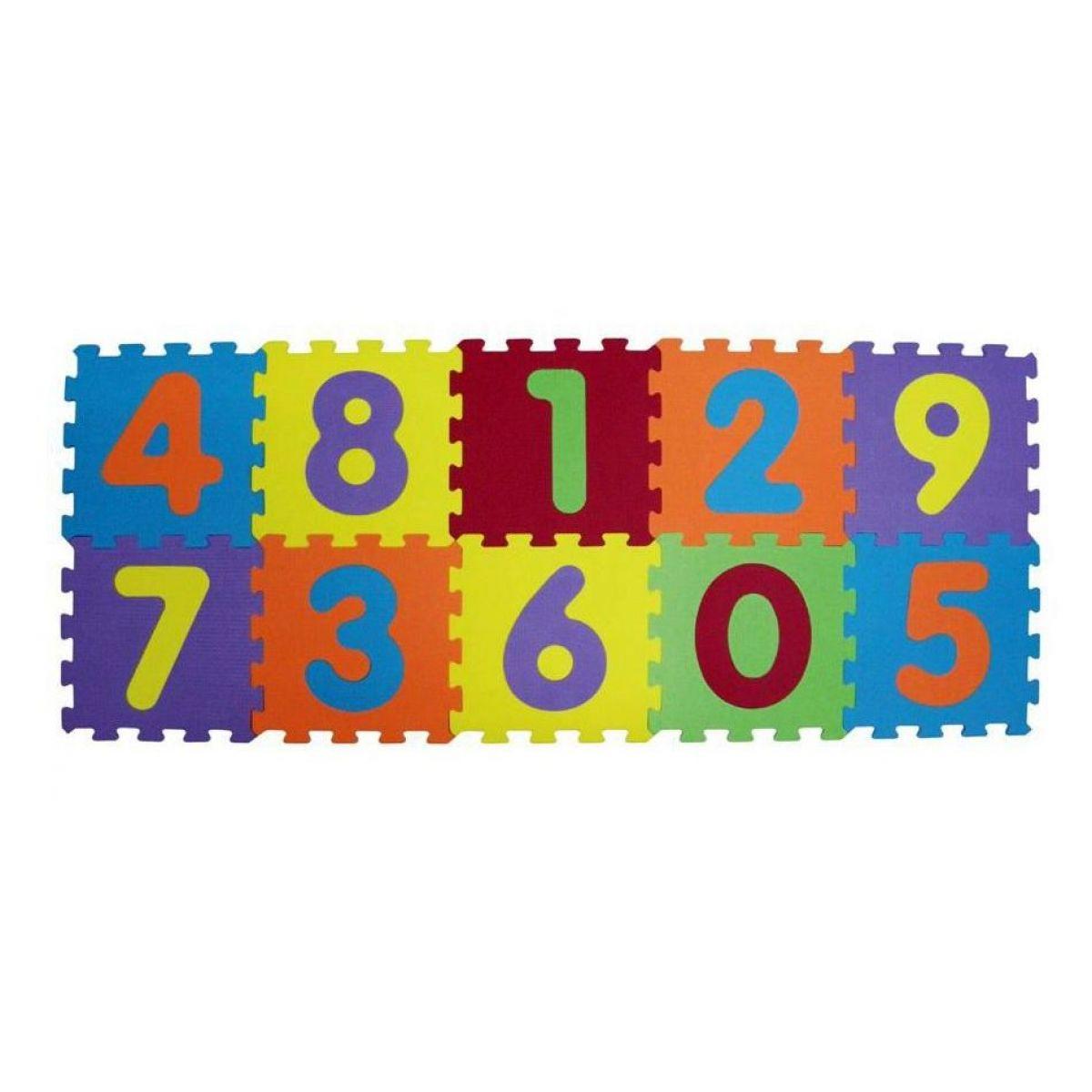 Ludi Puzzle pěnové 140 x 56 cm čísla