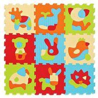 Ludi Puzzle pěnové 90 x 90  cm Zvířátka