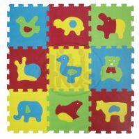 Ludi Puzzle pěnové Basic zvířátka 84 x 84 cm
