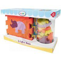 Ludi 3459LU -Ludi Puzzle pěnové se zvířátky do vany 2