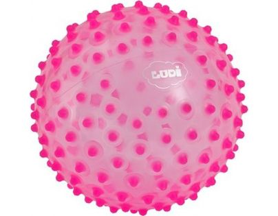 Ludi 2795ROLU- Senzorický míček růžový