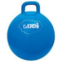 Ludi Skákací míč 45c m Modrý