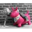 Ludi Skákací pes růžový 3