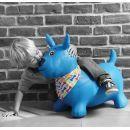 Ludi Skákací pes modrý 3