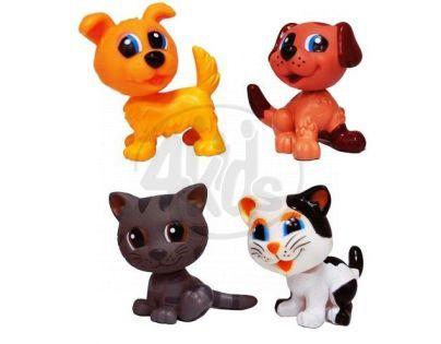 EP Line Lumpíci figurky - Psíci a kočky