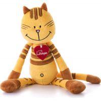 Lumpin Kočka Pipa Lipa střední žlutá 38 cm