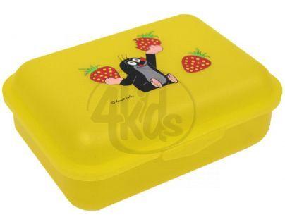 MÚ Brno Krtek Svačinový box jahody žlutý