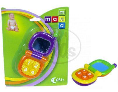 Maamaa 101022 - Chrastítko telefon vyklápěcí 13 cm