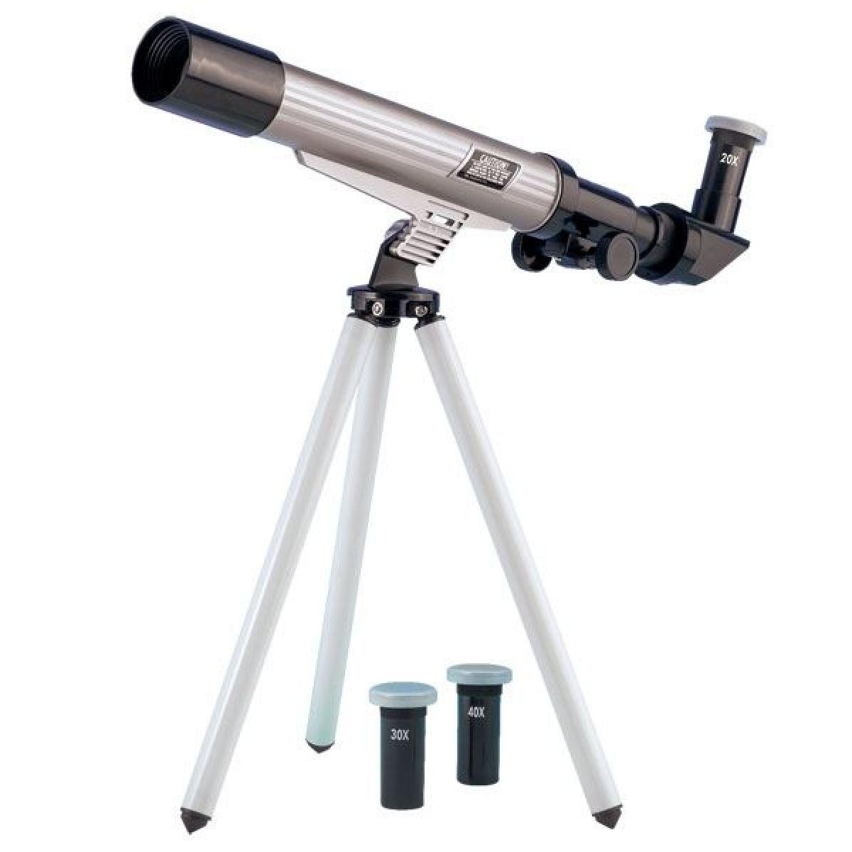 EDU-TOYS M8000023 - Astronomický Teleskop s tripodem30mm 20x 30x 40x