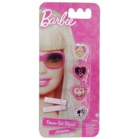 Mac Toys Barbie prstýnky 4ks