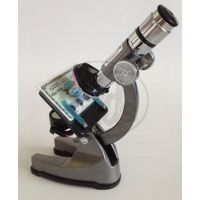 Mac Toys  M8000601 - Kovový mikroskop s lampičkou a projektorem 100x-900x 2