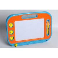 Mac Toys Magnetická kreslící tabulka modro-oranžová 2