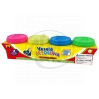 Mac Toys Modelína Neonové barvy 4 x140g