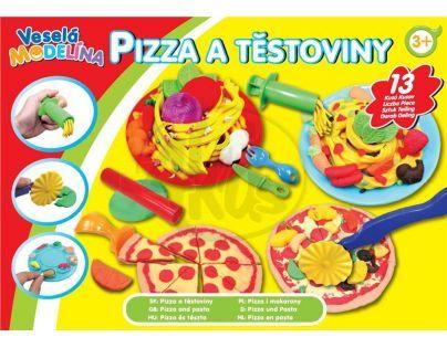 Mac Toys M4411658 - Modelína Pizza a těstoviny