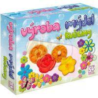 DetiArt 4110001 - Výroba mýdel - Květiny